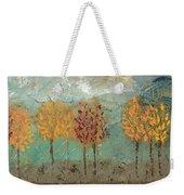 Colorful Trees Weekender Tote Bag