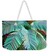 Colorful Tropical Leaves In The Jungle Weekender Tote Bag