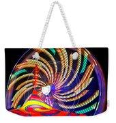 Colorful Wheel Of Lights Weekender Tote Bag