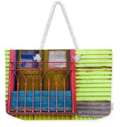 Colorful Window Weekender Tote Bag
