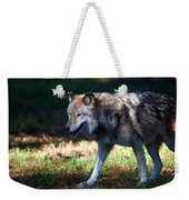 Colorful Wolf Weekender Tote Bag