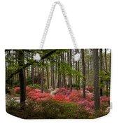 Colorful Woodland Azalea Garden Weekender Tote Bag