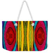 Colorful World Weekender Tote Bag