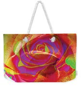 Colorfull Rose Weekender Tote Bag