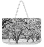 Colorless Cherry Blossoms Weekender Tote Bag