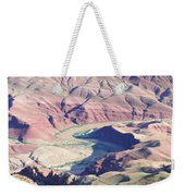 Colorodo River Flowing Through The Grand Canyon Weekender Tote Bag