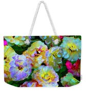 Colors And Roses Weekender Tote Bag