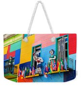 Colors And Statues Weekender Tote Bag