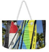 Key West Sail Colors Weekender Tote Bag