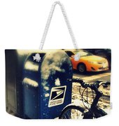 Colors In Snow Weekender Tote Bag