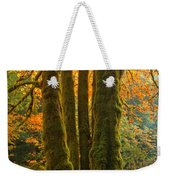 Colors In The Rainforest Weekender Tote Bag by Adam Jewell