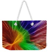 Colors Lines And Textures Weekender Tote Bag