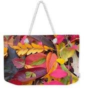 Colors Of Autumn Weekender Tote Bag