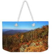 Colors Of Autumn In Shenandoah National Park Weekender Tote Bag