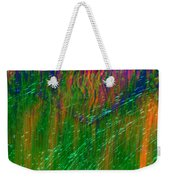 Colors Of Grass Weekender Tote Bag