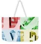 Colors Of Love Philadelphia Pa Weekender Tote Bag