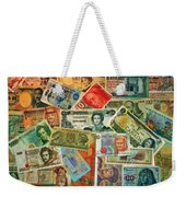 Colors Of Money Weekender Tote Bag