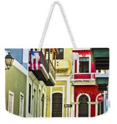 Colors Of Old San Juan Puerto Rico Weekender Tote Bag