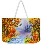 Colors Of Russia Autumn  Weekender Tote Bag by Irina Sztukowski