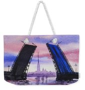 Colors Of Russia Bridges Of Saint Petersburg Weekender Tote Bag