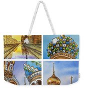 Colors Of Russia Church Of Our Savior On The Spilled Blood  Weekender Tote Bag