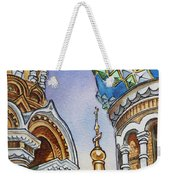 Colors Of Russia St Petersburg Cathedral II Weekender Tote Bag
