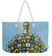 Colors Of Russia St Petersburg Cathedral IIi Weekender Tote Bag by Irina Sztukowski