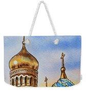 Colors Of Russia St Petersburg Cathedral Iv Weekender Tote Bag by Irina Sztukowski