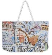 Colors Of Russia Winter In Saint Petersburg Weekender Tote Bag