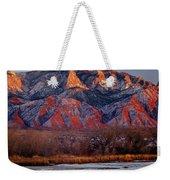 214501-colors Of Sandia Crest  Weekender Tote Bag
