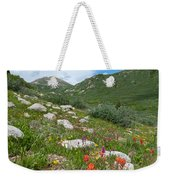 Colors Of The Rainbow - Colorado Mountain Summer Weekender Tote Bag