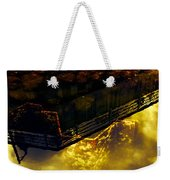 Colors Of The Sound Gold Weekender Tote Bag