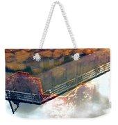Colors Of The Sound Orange Weekender Tote Bag