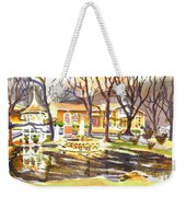 Colors On A Cloudy Day Weekender Tote Bag