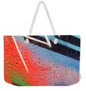 Colors On The Wall Weekender Tote Bag