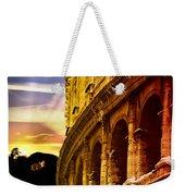 Colosseum Sunset Weekender Tote Bag