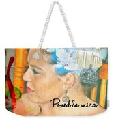 Colossians 3 2 Spanish Weekender Tote Bag