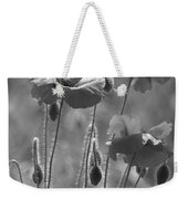 Colour Blind Poppies 1 Weekender Tote Bag