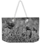 Colour Blind Poppies 2 Weekender Tote Bag