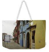 Coloured Houses In Burano Weekender Tote Bag