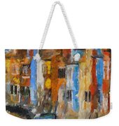 Coloured Houses On Burano Weekender Tote Bag