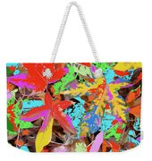 Coloured Leaves By M.l.d. Moerings  2009 Weekender Tote Bag