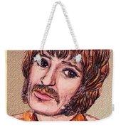 Coloured Pencil Portrait Weekender Tote Bag