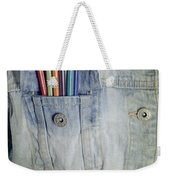 Coloured Pencils Weekender Tote Bag