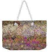 Colourful Almond Trees Weekender Tote Bag