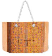 Colourful Entrance Door Sale Rabat Morocco Weekender Tote Bag