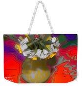 Colourful Flowers Weekender Tote Bag
