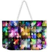 Colourful Fractal Jewels Weekender Tote Bag