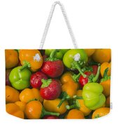 Colourful Mini Bell Peppers Weekender Tote Bag