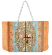 Colourful Moroccan Entrance Door Sale Rabat Morocco Weekender Tote Bag